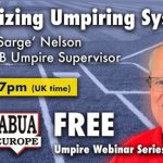 "Umpire Webinar with Dick ""Sarge"" Nelson"
