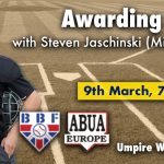 Umpire Webinar with S. Jaschinski (MiLB)